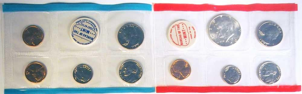 1970 Mint Set - All Original 10 Coin U.S. Mint Uncirculated Set