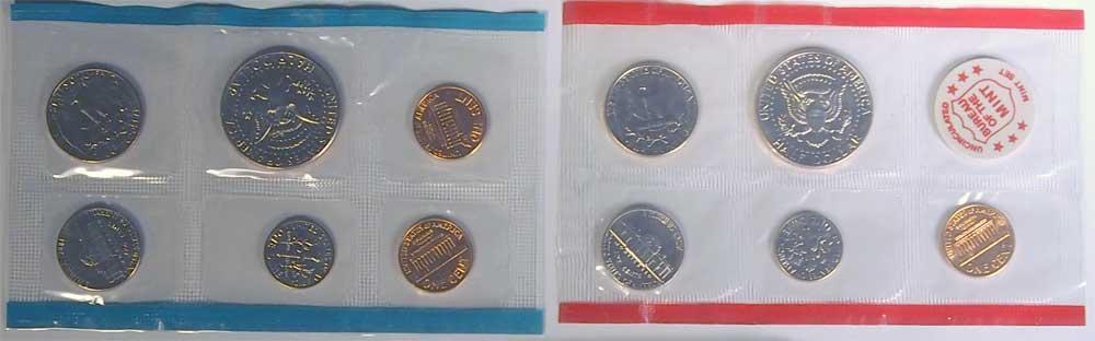 1971 Mint Set - All Original 11 Coin U.S. Mint Uncirculated Set