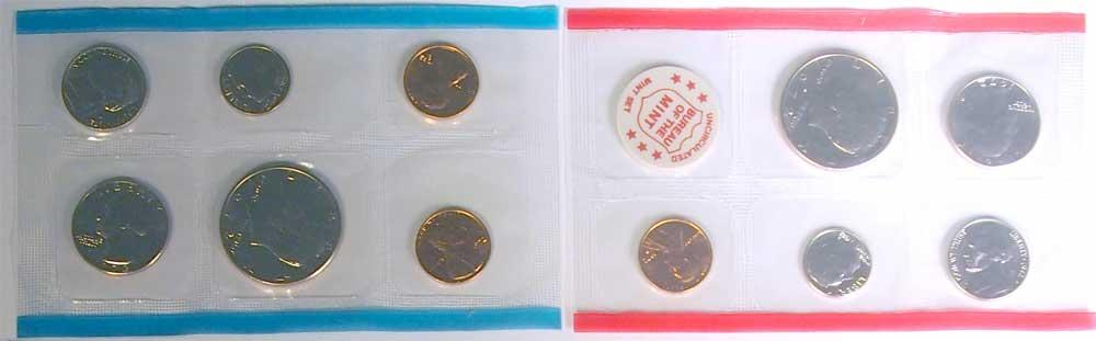 1972 Mint Set - All Original 11 Coin U.S. Mint Uncirculated Set