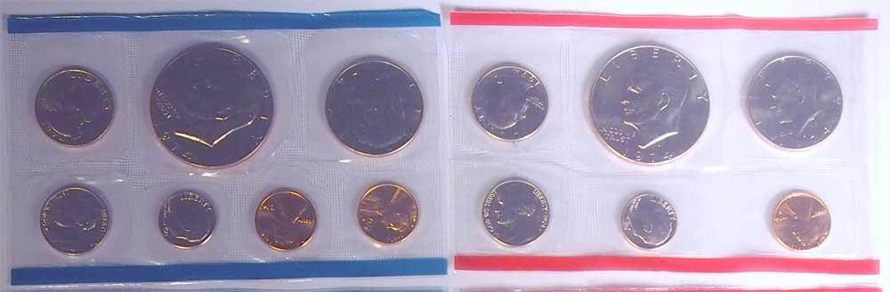 1974 Mint Set - All Original 13 Coin U.S. Mint Uncirculated Set