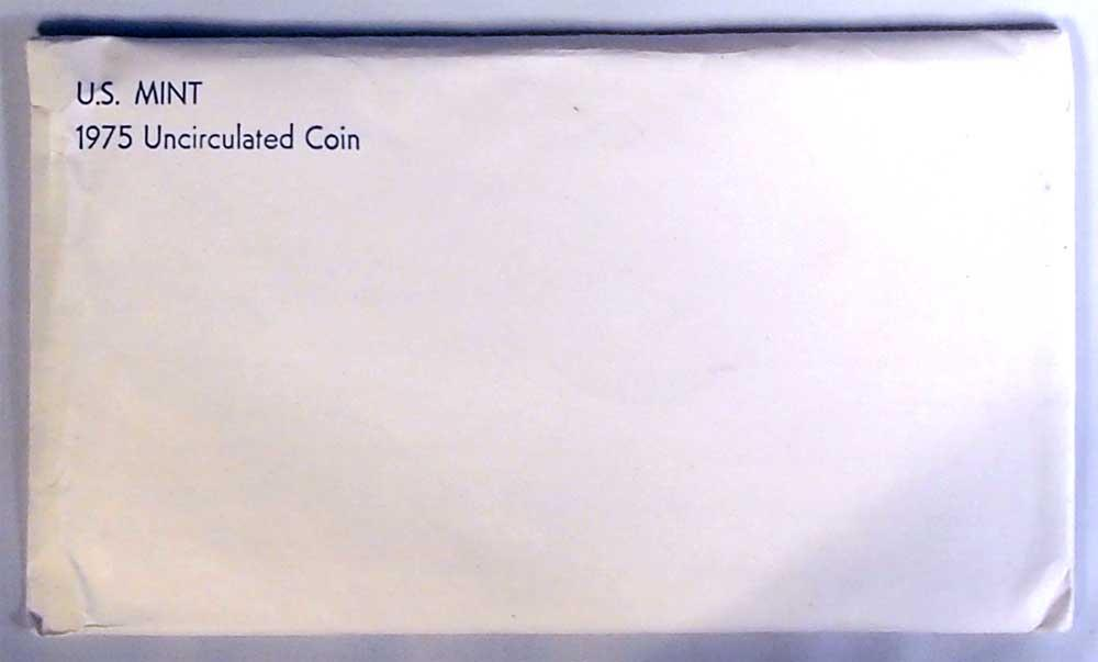 1975 Mint Set - All Original 12 Coin U.S. Mint Uncirculated Set