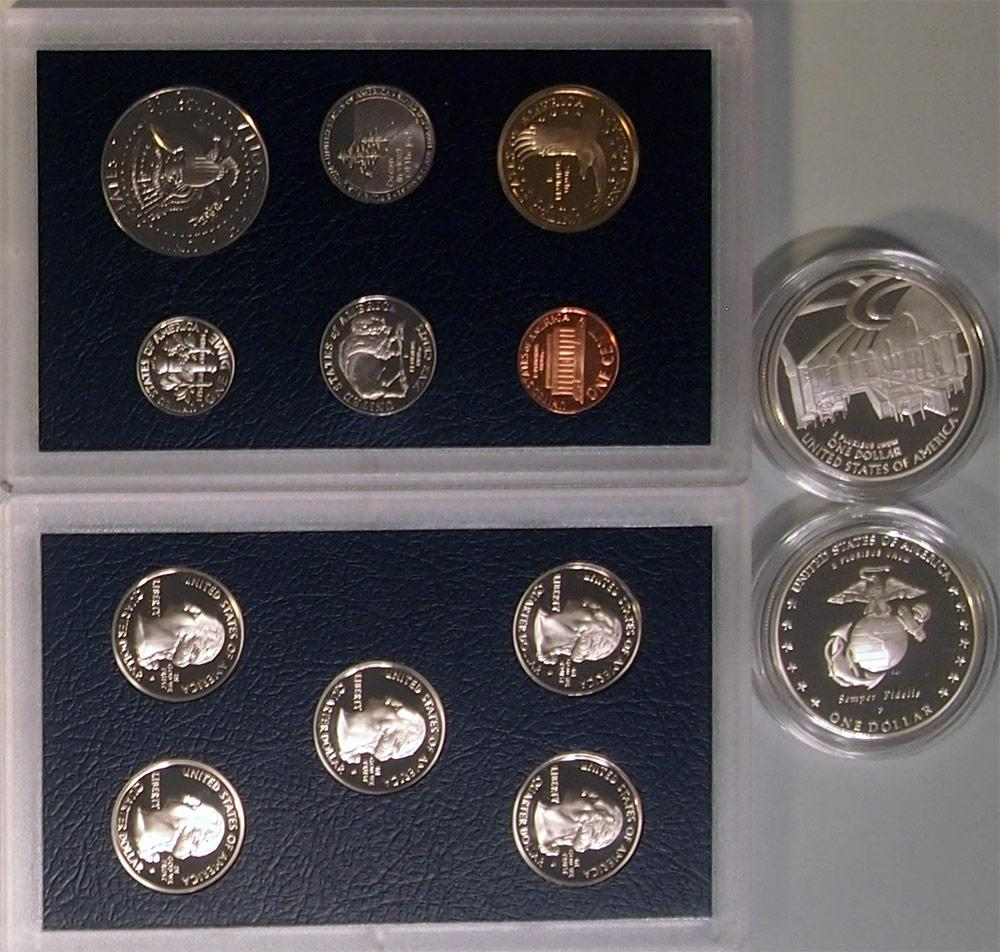 2005 American Legacy Collection Proof Sets - 13 Coin U S  Mint Proof Set