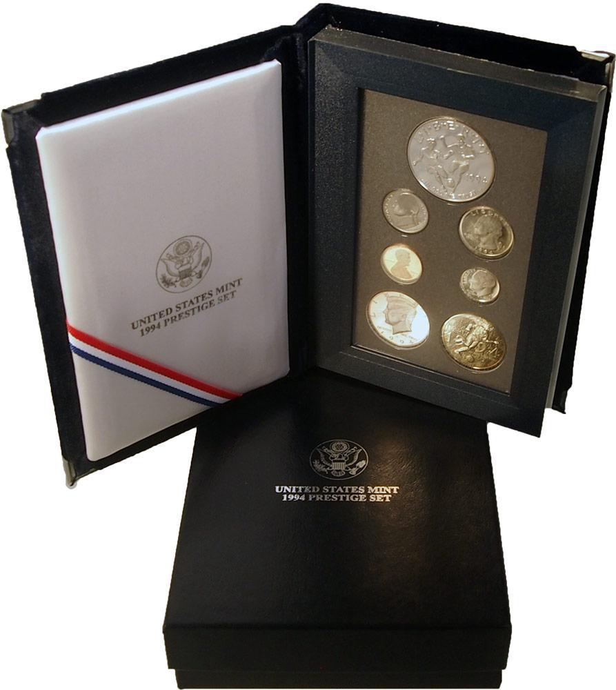 1994 Prestige Proof Set - 7 Coins