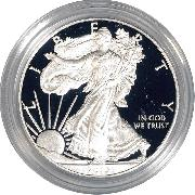 2013 Silver Eagle PROOF In Box with COA 2013-W American Silver Eagle Dollar Proof
