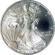 2009 American Silver Eagle Dollar BU 1oz Silver Uncirculated Coin