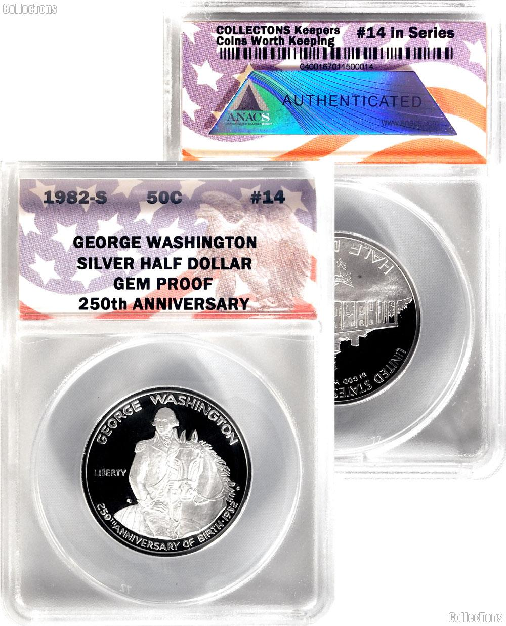 CollecTons Keeper #14: 1982-S George Washington Proof Half Dollar