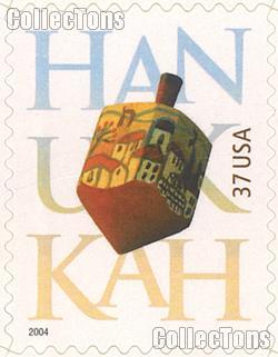 2004 Hanukkah 37 Cent US Postage Stamp Unused Sheet of 20 Scott #3880