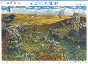 2003 Arctic Tundra 37 Cent US Postage Stamp Unused Sheet of 10 Scott #3802