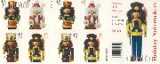 2008 Christmas Nutcrackers 42 Cent US Postage Stamp Unused Booklet of 20 Scott #4360 - #4363