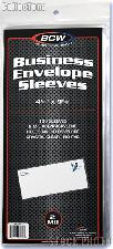 BCW Polypropylene Sleeves for Business Envelope #10, pack of 100