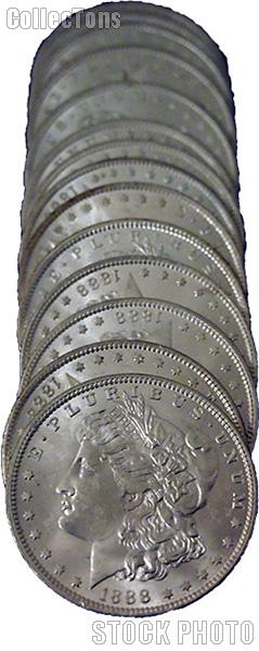 1888-O BU Morgan Silver Dollars from Original Roll