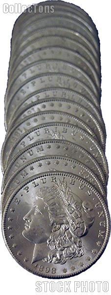 1898-O BU Morgan Silver Dollars from Original Roll
