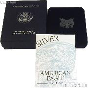 2000-P American Silver Eagle 1 oz Silver Proof Coin OGP Replacement Box and COA