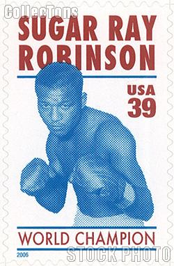 2006 Sugar Ray Robinson - Boxer 39 Cent US Postage Stamp Unused Sheet of 20 Scott #4020