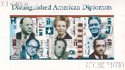 2006 Distinguished American Diplomats 39 Cent US Postage Stamp Unused Sheet of 6 Scott #4076