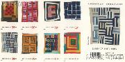 2006 American Treasures Series Quilts of Gee's Bend, Alabama 39 Cent US Postage Stamp Unused Booklet of 20 Scott #4089B-#4098B