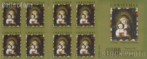2006 Christmas 39 Cent US Postage Stamp Unused Booklet of 20 Scott #4100