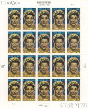 2007 Black Heritage - Ella Fitzgerald Series 39 Cent US Postage Stamp Unused Sheet of 20 Scott #4120
