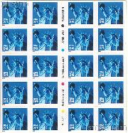 2000 Statue of Liberty 34 Cent US Postage Stamp Unused Booklet of 20 Scott #3451A