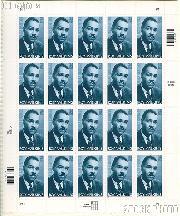 2001 Black Heritage Series - Roy Wilkins 34 Cent US Postage Stamp Unused Sheet of 20 Scott #3501