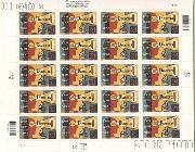 2001 Diabetes Awareness Series 34 Cent US Postage Stamp Unused Sheet of 20 Scott #3503