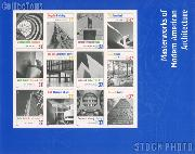 2005 Modern American Architecture 37 Cent US Postage Stamp Unused Sheet of 12 Scott #3910