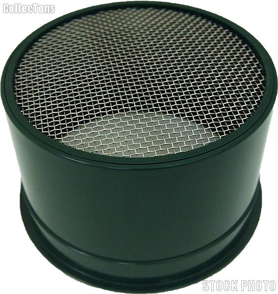 """6"""" Green Mini Stackable Gold Sifter - 10 holes per square inch"""