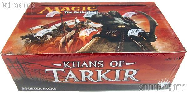 MTG Khans of Tarkir - Magic the Gathering Booster Factory Sealed Box
