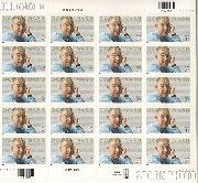 2002 Literary Arts - Ogden Nash 37 Cent US Postage Stamp Unused Sheet of 20 Scott #3659