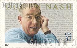 2002 Literary Arts - Ogden Nash 37 Cent US Postage Stamp Unused Sheet of 20 Scott #3659