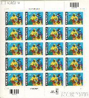 2002 Kwanzaa 37 Cent US Postage Stamp Unused Sheet of 20 Scott #3673