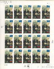 2003 Louisiana Purchase Bicentennial 37 Cent US Postage Stamp Unused Sheet of 20 Scott #3782
