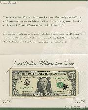 """2001"" One Dollar Millennium 1999 Series Federal Reserve Note"