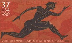 2004 Summer Olympic Games, Athens, Greece 37 Cent US Postage Stamp Unused Sheet of 20 Scott #3863
