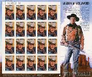 2004 John Wayne 37 Cent US Postage Stamp Unused Sheet of 20 Scott #3876