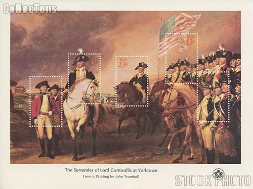 1976 Bicentennial Souvenir Sheet Collection set of 4 Sheets Scott #1686-#1689