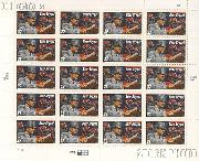1997 Football Coaches - Bear Bryant 32 Cent US Postage Stamp MNH Sheet of 20 Scott #3148