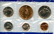 1983 Philadelphia Mint Souvenir Set - All Original 5 Coins and Medallion from the U.S. Mint
