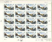 1998 Klondike Gold Rush Centennial 32 Cent US Postage Stamp MNH Sheet of 20 Scott #3235