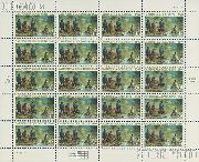 1999 California Gold Rush 150th Anniversary 33 Cent US Postage Stamp MNH Sheet of 20 Scott #3316