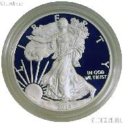 2015 Silver Eagle PROOF In Box with COA 2015-W American Silver Eagle Dollar Proof