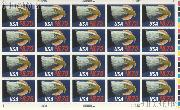 1988 Eagle in Flight - Express Mail Rate $8.75 US Postage Stamp MNH Sheet of 20 Scott #2394