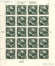 1994 Presidents Washington and Jackson $5 US Postage Stamp MNH Sheet of 20 Scott #2592