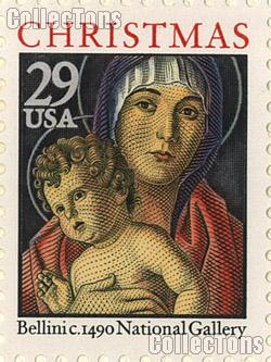 1992 Madonna and Child - Christmas Series 29 Cent US Postage Stamp MNH Sheet of 50 Scott #2710