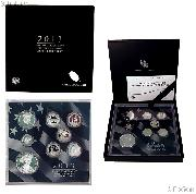 2013 LIMITED EDITION SILVER PROOF SET * 8 Coin U.S. Mint Proof Set