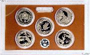 2015 QUARTER PROOF SET * ORIGINAL * 5 Coin U.S. Mint Proof Set