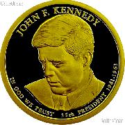 2015-S John F. Kennedy Presidential Dollar GEM PROOF Coin