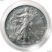 2015-W Burnished BU American Silver Eagle * 1oz Silver