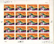 1995 Florida Statehood 32 Cent US Postage Stamp MNH Sheet of 20 Scott #2950
