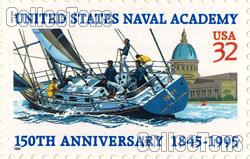 1995 U.S. Naval Academy 150th Anniversary 32 Cent US Postage Stamp MNH Sheet of 20 Scott #3001